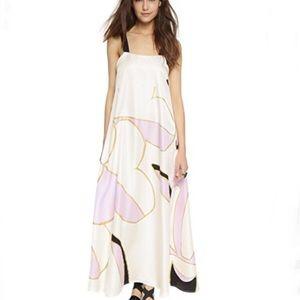 Cynthia Rowley silk maxi dress, size 10